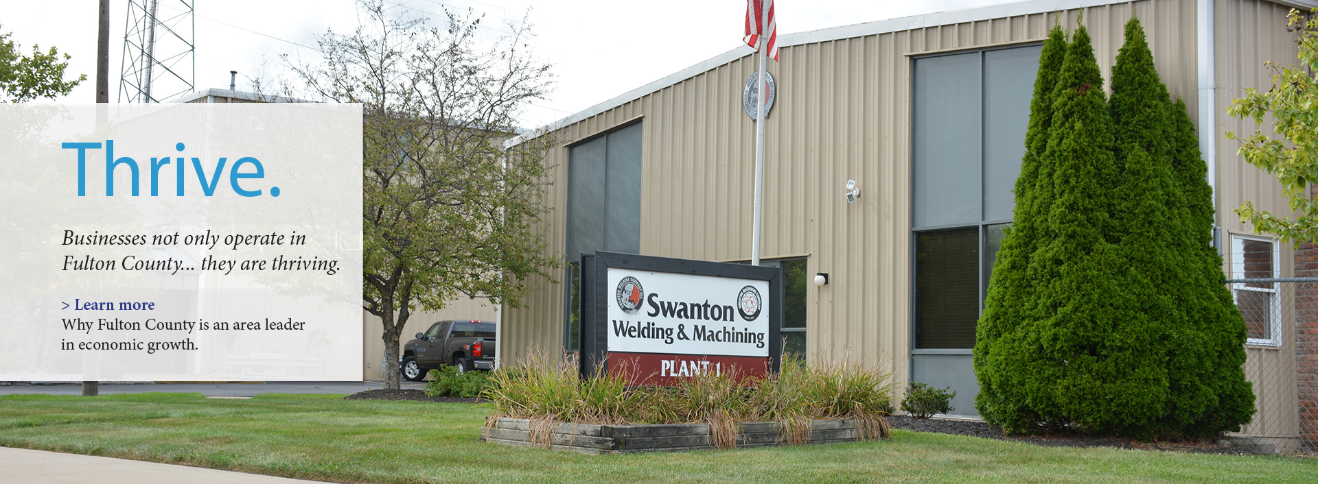 Exterior of Swanton Welding & Machining